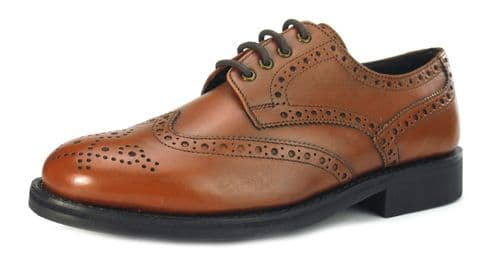 Frank James Monmouth Tan Brown Welted Shoes